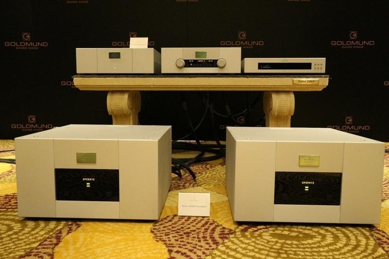 Goldmund Power Amplifier Telos 2500 NextGen