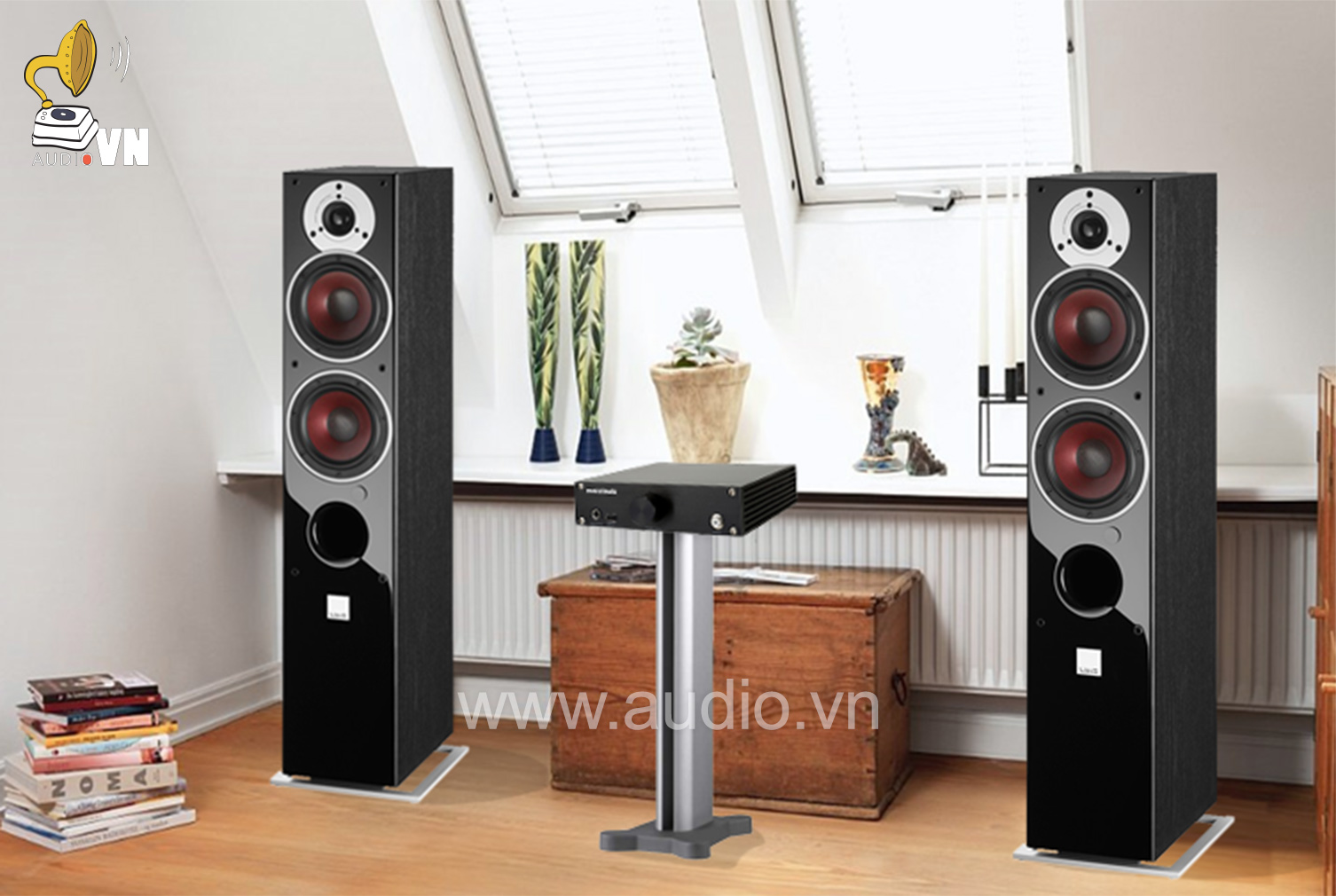 Cocktail Audio N15D V& DALI ZENSOR 5 AX BLACK ASTT