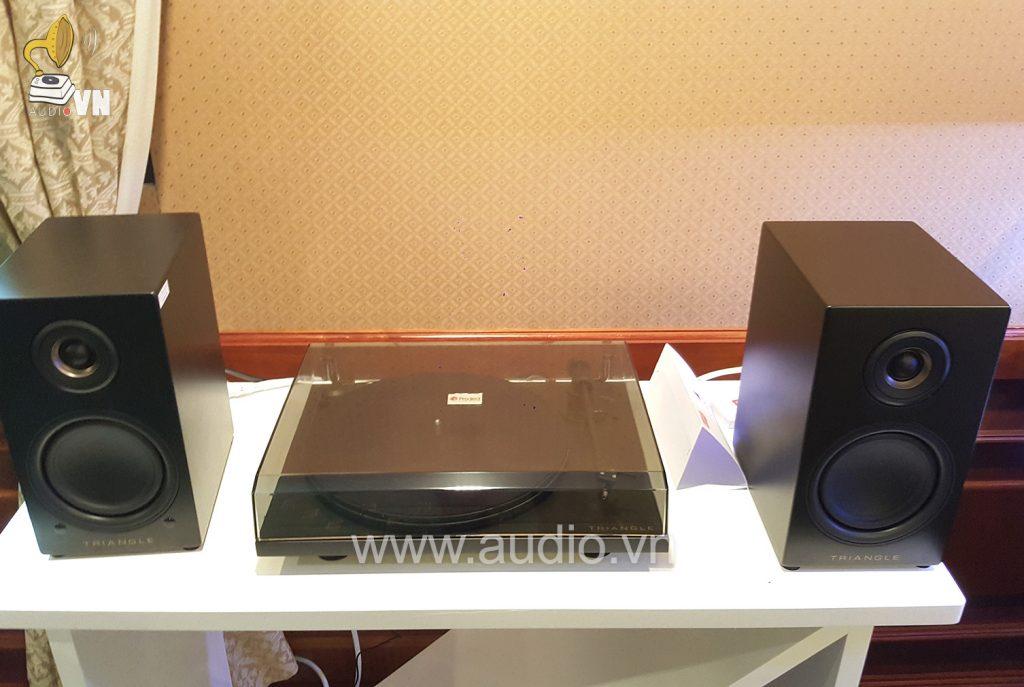 Hệ thống âm thanh đĩa than & Loa Triangle LN01