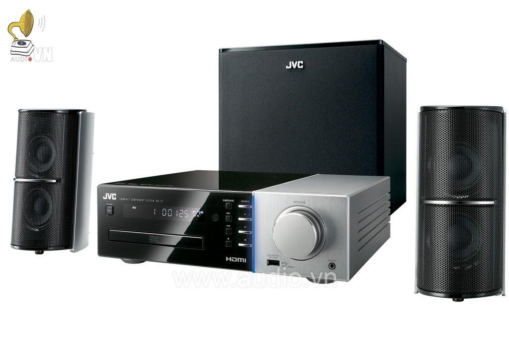 JVC NX-F3 là một hệ thống giải trí gia đình có chất lượng âm thanh tuyệt vời