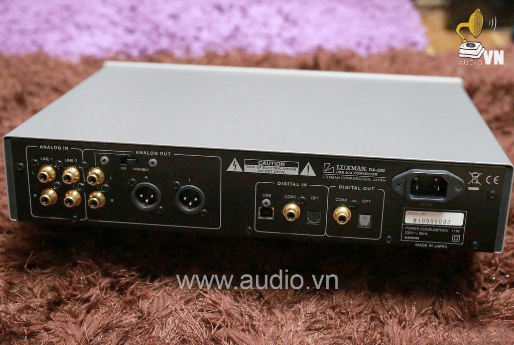 Luxman DA-200 usb DAC
