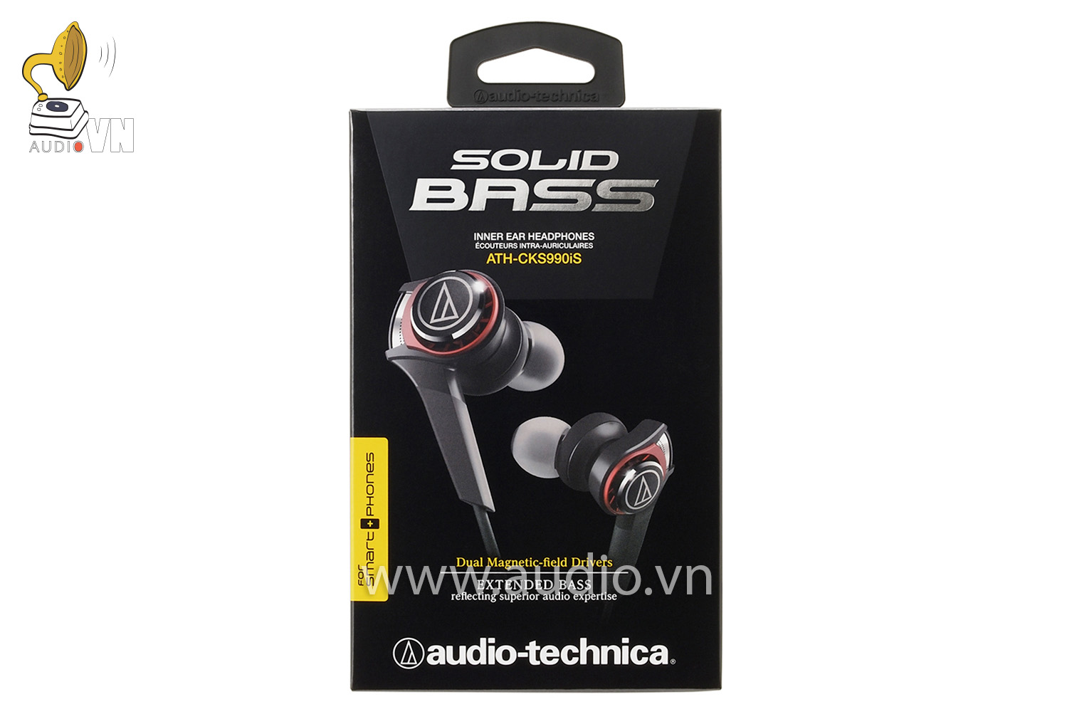 Tai nghe Audio Technica ATH-CKS990IS