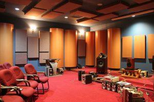 bố trí nội thất phòng nhạc